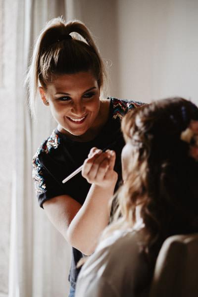Maquilladora de novias en Coruña